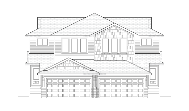 Sidney Front Elevation